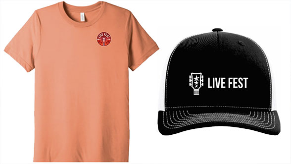 Image of Live Fest™ T-Shirt and Hat