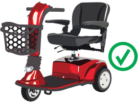 Image of Motorized Scooter